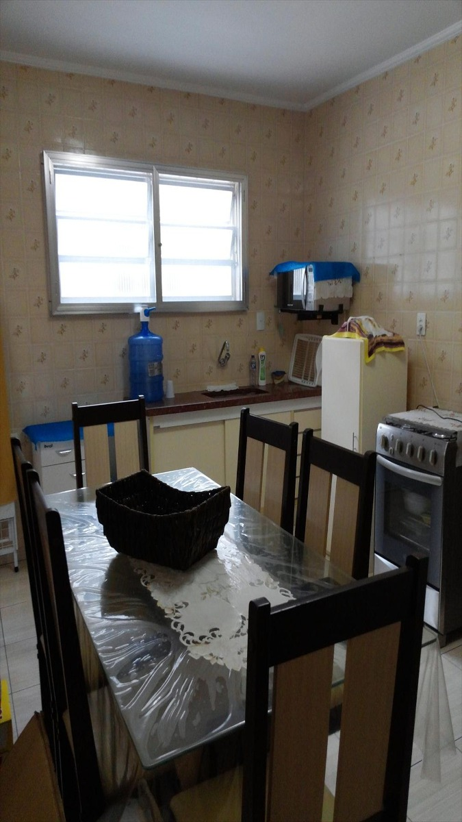 ref.: 201 - apartamento em praia grande, no bairro guilhermina - 2 dormitórios
