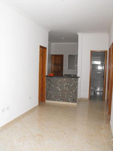 ref.: 2010 - casa em praia grande, no bairro sitio do campo - 2 dormitórios