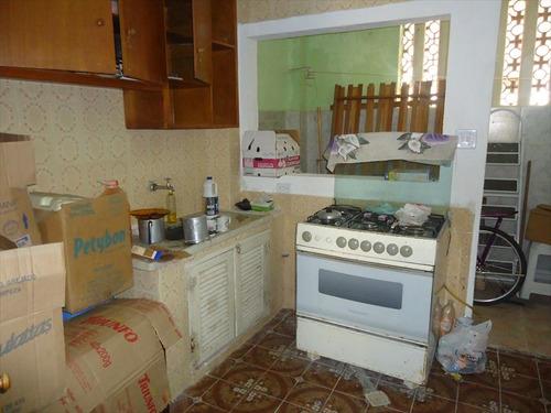 ref.: 20108400 - casa em praia grande, no bairro guilhermina - 1 dormitórios