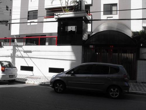 ref.: 2015 - apartamento em praia grande, no bairro guilhermina - 2 dormitórios