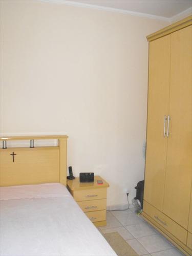 ref.: 2018 - apartamento em praia grande, no bairro guilhermina - 1 dormitórios
