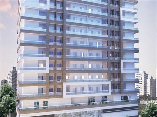 ref.: 2018 - apartamento em praia grande, no bairro guilhermina - 2 dormitórios