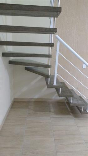 ref.: 202 - casa condomínio fechado em itanhaém, no bairro suarão - 2 dormitórios