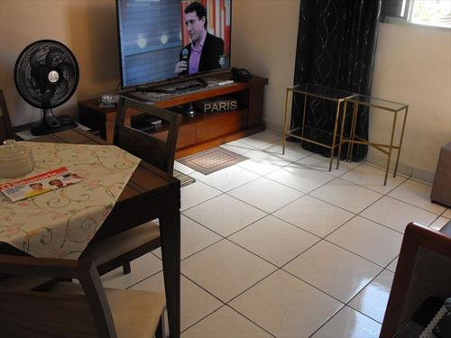 ref.: 2021 - apartamento em praia grande, no bairro guilhermina - 1 dormitórios