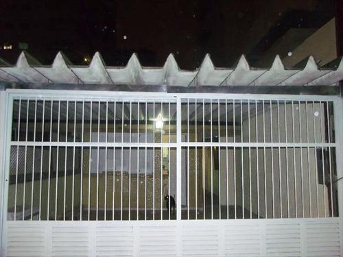 ref.: 202101500 - casa em praia grande, no bairro guilhermina - 2 dormitórios