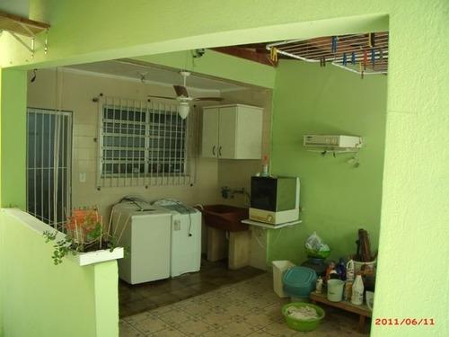 ref.: 202110601 - casa em praia grande, no bairro forte - 2 dormitórios