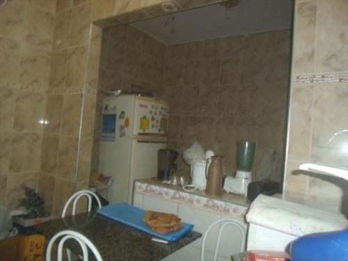 ref.: 202111700 - casa condomínio fechado em praia grande, no bairro guilhermina - 2 dormitórios