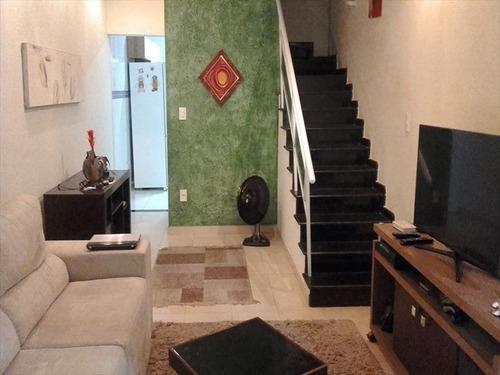 ref.: 202115001 - casa em praia grande, no bairro guilhermina - 2 dormitórios