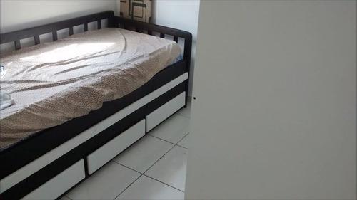 ref.: 202120504 - casa em praia grande, no bairro tupi - 2 dormitórios