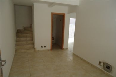 ref.: 2021400 - casa condomínio fechado em praia grande, no bairro guilhermina - 2 dormitórios