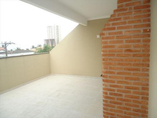 ref.: 2027700 - casa em praia grande, no bairro guilhermina - 2 dormitórios
