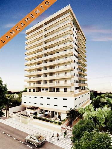 ref.: 2028 - apartamento em praia grande, no bairro caicara - 2 dormitórios
