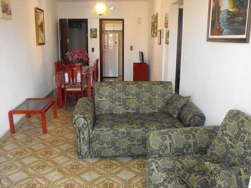 ref.: 2029 - apartamento em praia grande, no bairro guilhermina - 2 dormitórios