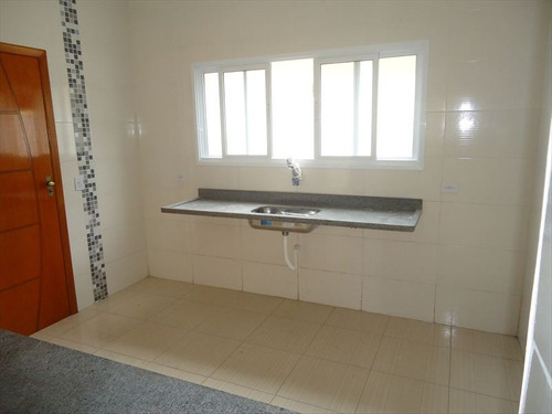ref.: 2029600 - casa condomínio fechado em praia grande, no bairro guilhermina - 2 dormitórios