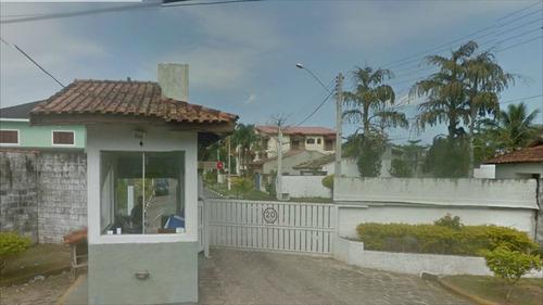 ref.: 203 - casa condomínio fechado em itanhaém, no bairro campos elíseos - 4 dormitórios