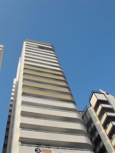 ref.: 2030 - apartamento em praia grande, no bairro guilhermina - 3 dormitórios