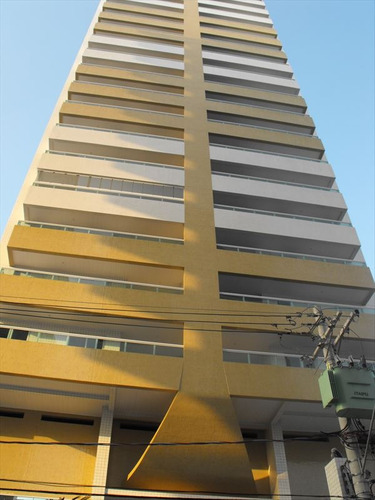 ref.: 2031 - apartamento em praia grande, no bairro guilhermina - 2 dormitórios