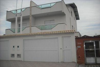 ref.: 20346000 - casa em praia grande, no bairro forte - 3 dormitórios