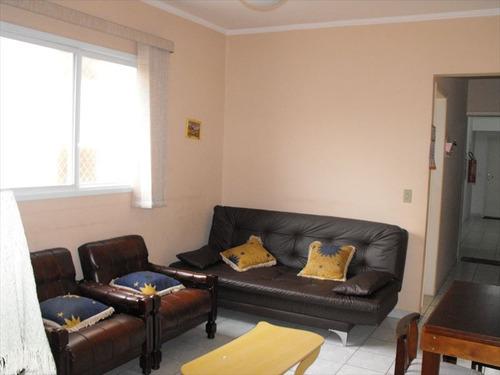 ref.: 2035 - apartamento em praia grande, no bairro guilhermina - 1 dormitórios