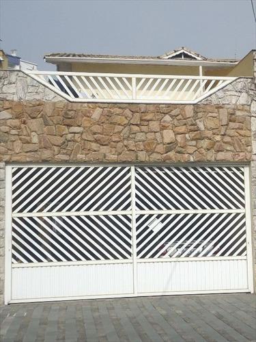 ref.: 20368504 - casa em praia grande, no bairro guilhermina - 3 dormitórios