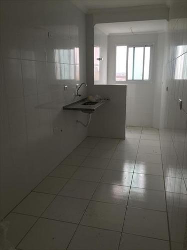 ref.: 2037 - apartamento em praia grande, no bairro guilhermina - 2 dormitórios