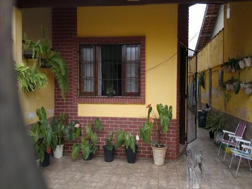 ref.: 203700 - casa em mongagua, no bairro jussara - 2 dormitórios