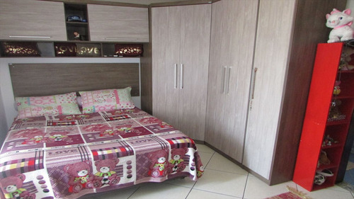 ref.: 20377704 - casa em praia grande, no bairro guilhermina - 3 dormitórios