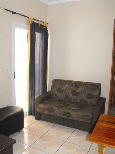 ref.: 2043 - apartamento em praia grande, no bairro boqueirao - 1 dormitórios