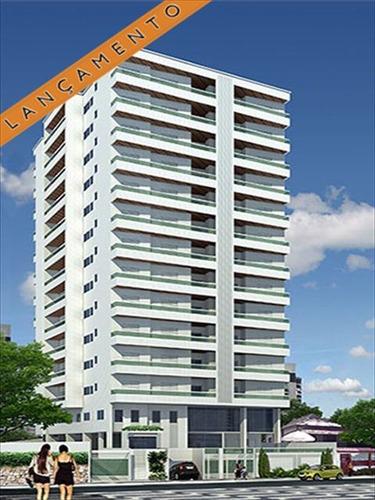 ref.: 2048 - apartamento em praia grande, no bairro aviacao - 2 dormitórios