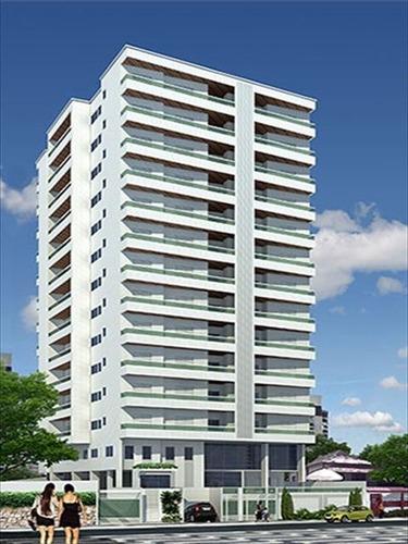 ref.: 2049 - apartamento em praia grande, no bairro aviacao - 2 dormitórios