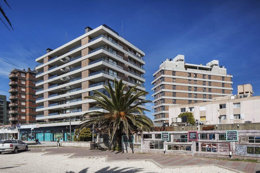 ref: 2052 - departamento en alquiler - pinamar, zona centro playa.