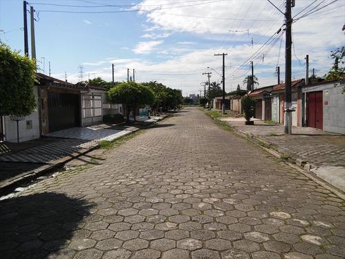 ref.: 205300 - casa em mongagua, no bairro itaguaí - 3 dormitórios