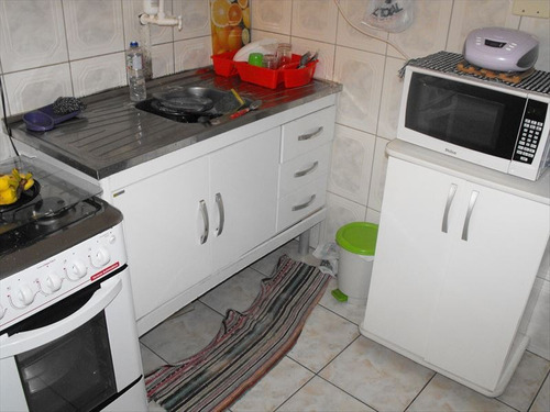 ref.: 2057 - apartamento em praia grande, no bairro boqueirao - 1 dormitórios