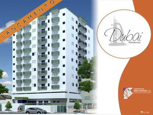 ref.: 2060 - apartamento em praia grande, no bairro canto do forte - 2 dormitórios