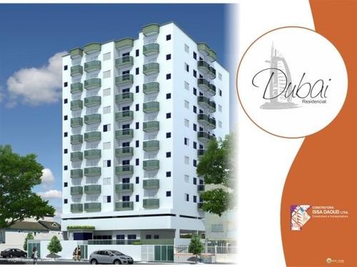 ref.: 2063 - apartamento em praia grande, no bairro canto do forte - 2 dormitórios