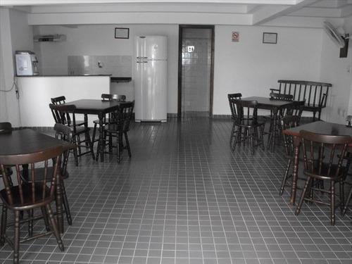 ref.: 2065 - apartamento em praia grande, no bairro guilhermina - 2 dormitórios