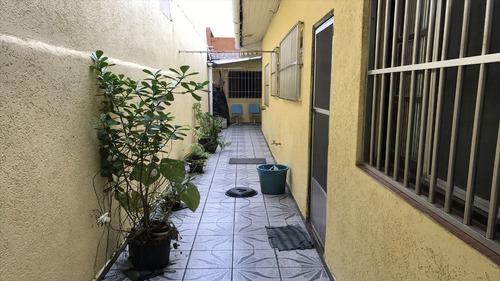 ref.: 2065 - casa em praia grande, no bairro vila guilhermina - 2 dormitórios