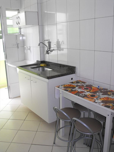 ref.: 2067 - apartamento em praia grande, no bairro guilhermina - 1 dormitórios