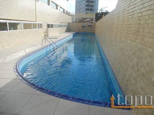 ref.: 2068 - apartamento em praia grande, no bairro guilhermina - 3 dormitórios
