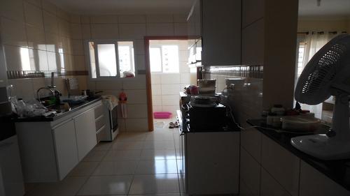 ref.: 2070 - apartamento em praia grande, no bairro campo aviacao - 2 dormitórios