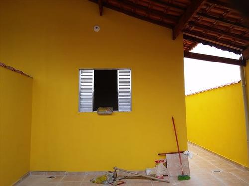 ref.: 208000 - casa em mongagua, no bairro itapoan - 2 dormitórios