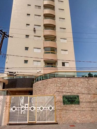ref.: 2085 - apartamento em praia grande, no bairro aviacao - 2 dormitórios