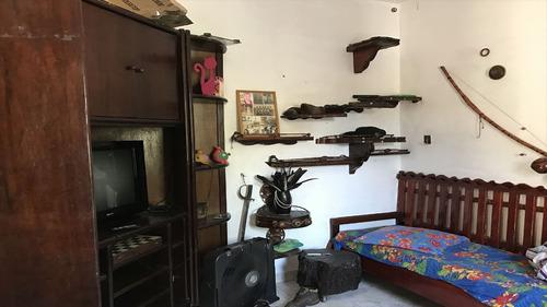 ref.: 2085 - casa em praia grande, no bairro vila guilhermina - 2 dormitórios