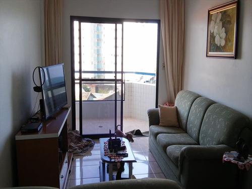 ref.: 208500 - apartamento em mongagua, no bairro vera cruz - 2 dormitórios