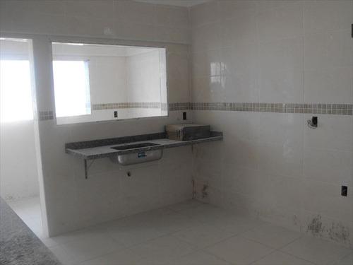 ref.: 2093 - apartamento em praia grande, no bairro guilhermina - 2 dormitórios