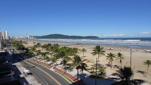 ref.: 2095 - apartamento em praia grande, no bairro vila guilhermina - 1 dormitórios