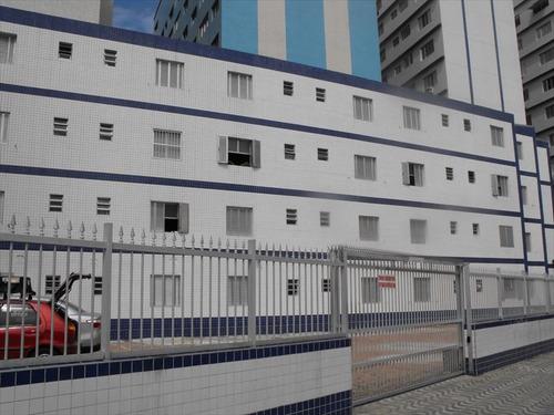 ref.: 2100 - apartamento em praia grande, no bairro boqueirao - 1 dormitórios
