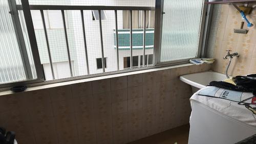 ref.: 2101 - apartamento em praia grande, no bairro vila guilhermina - 2 dormitórios