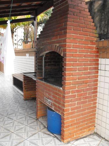 ref.: 2108 - apartamento em praia grande, no bairro guilhermina - 2 dormitórios