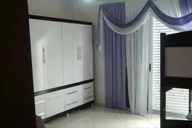 ref.: 2109 - casa em praia grande, no bairro anhanguera - 2 dormitórios